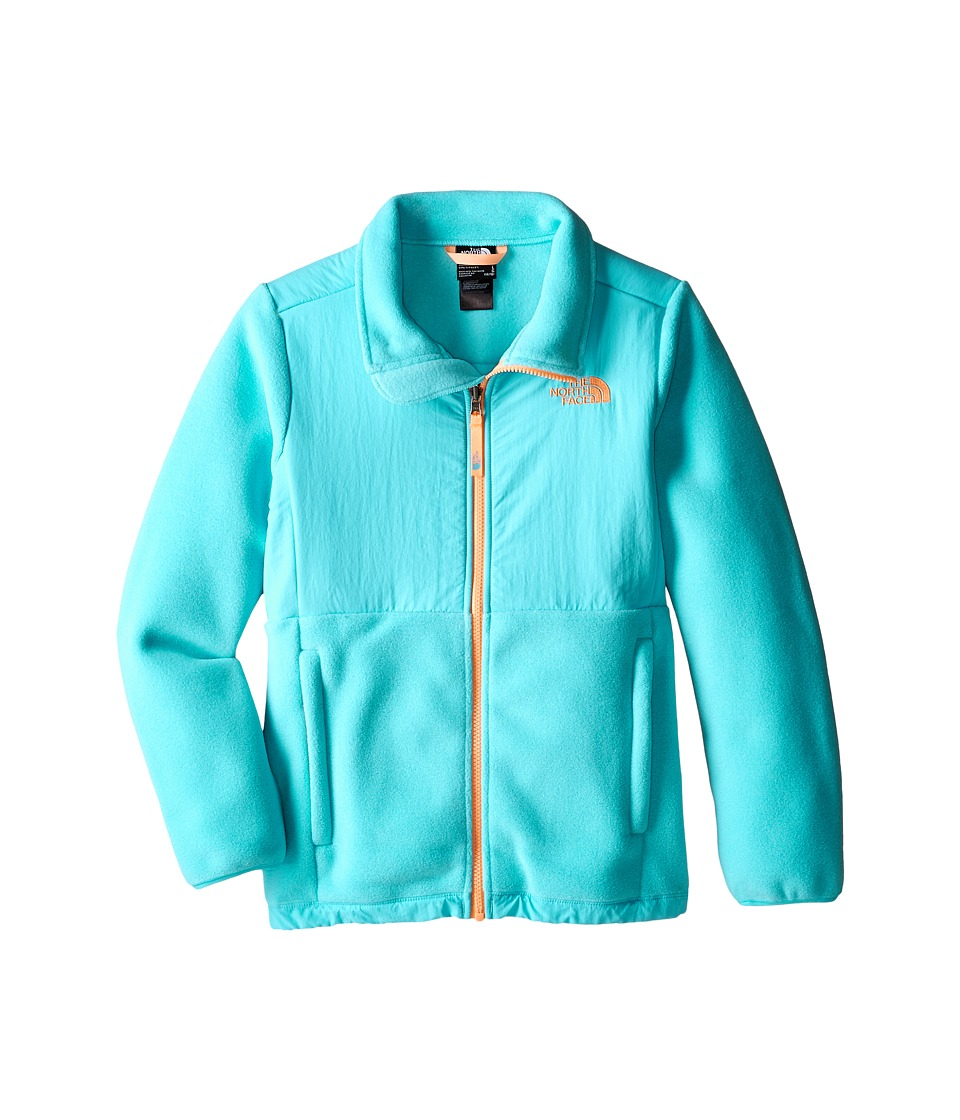 The North Face Kids - Denali Jacket (Little Kids/Big Kids) (Recycled Fortuna Blue) Girl's Coat