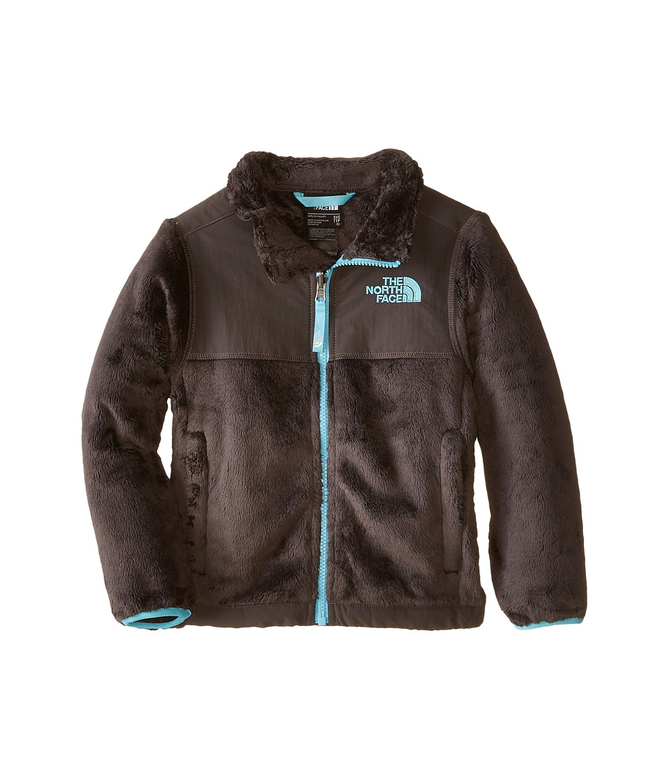 The North Face Kids - Denali Thermal Jacket (Little Kids/Big Kids) (Graphite Grey) Girl's Coat