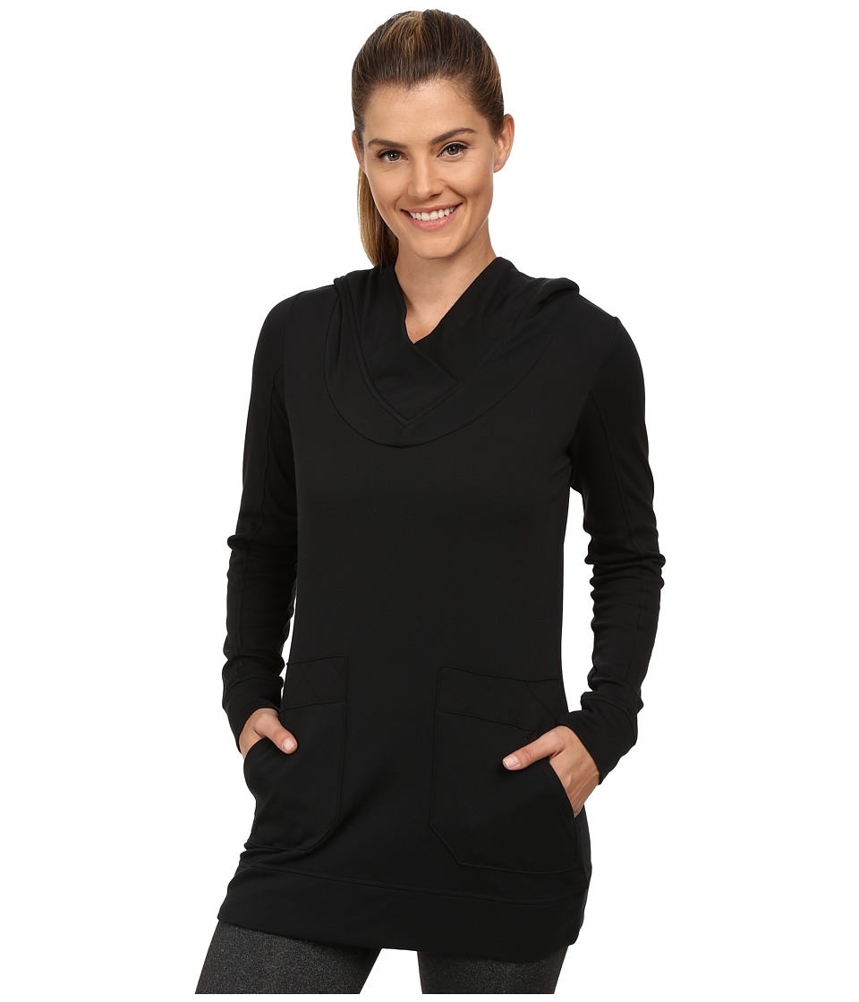 Lole - Call You Tunic (Black) Women's Long Sleeve Pullover