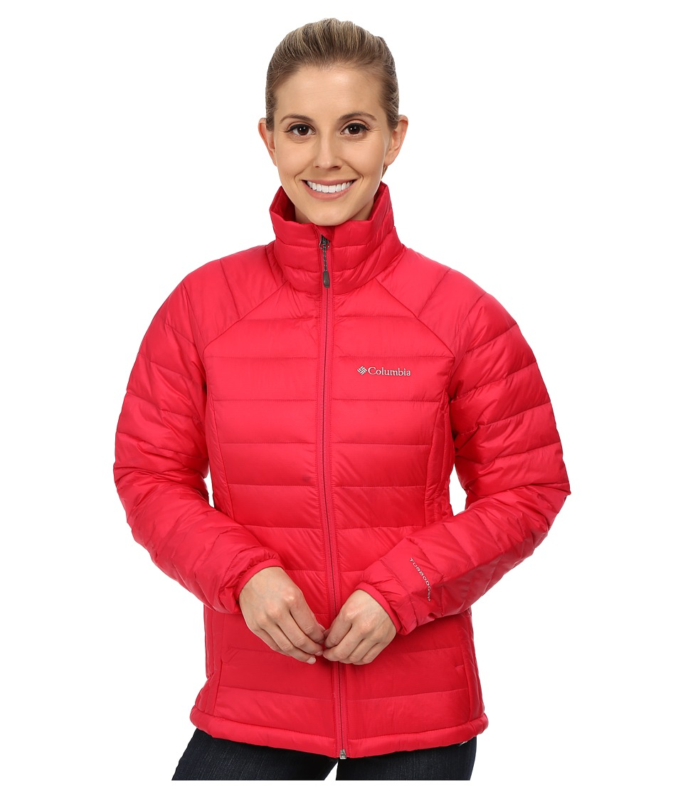 Columbia - Platinum Plus 860 TurboDown Jacket (Ruby Red) Women's Coat