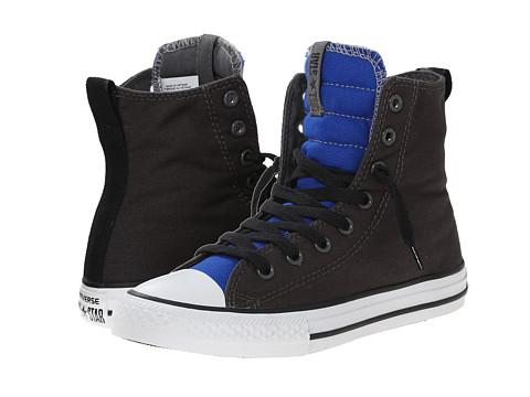 Converse Kids - Chuck Taylor All Star Slip It Hi (Little Kid/Big Kid) (Storm Wind/Blue/Black) Boys Shoes