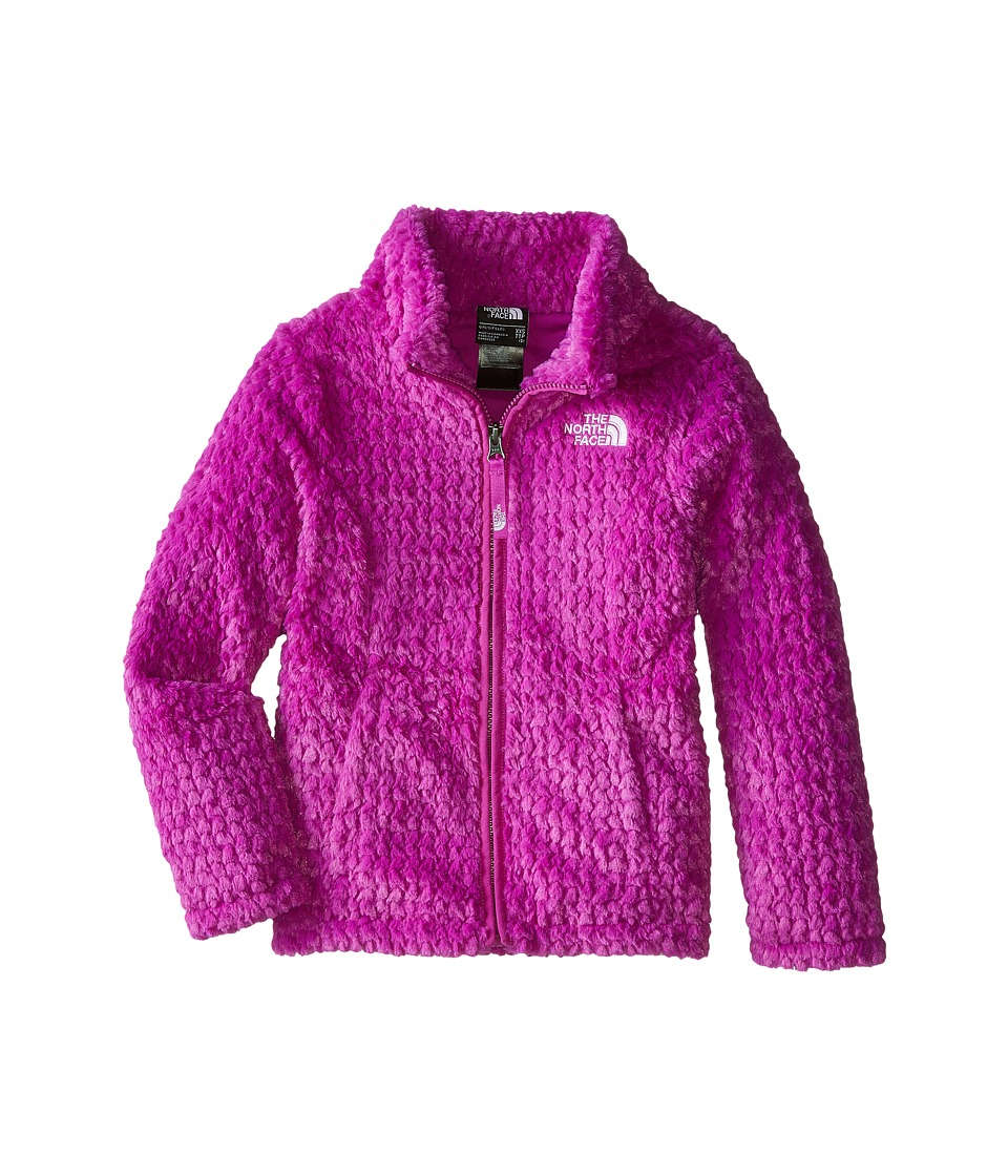 The North Face Kids - Laurel Fleece Full Zip (Little Kids/Big Kids) (Magic Magenta) Girl