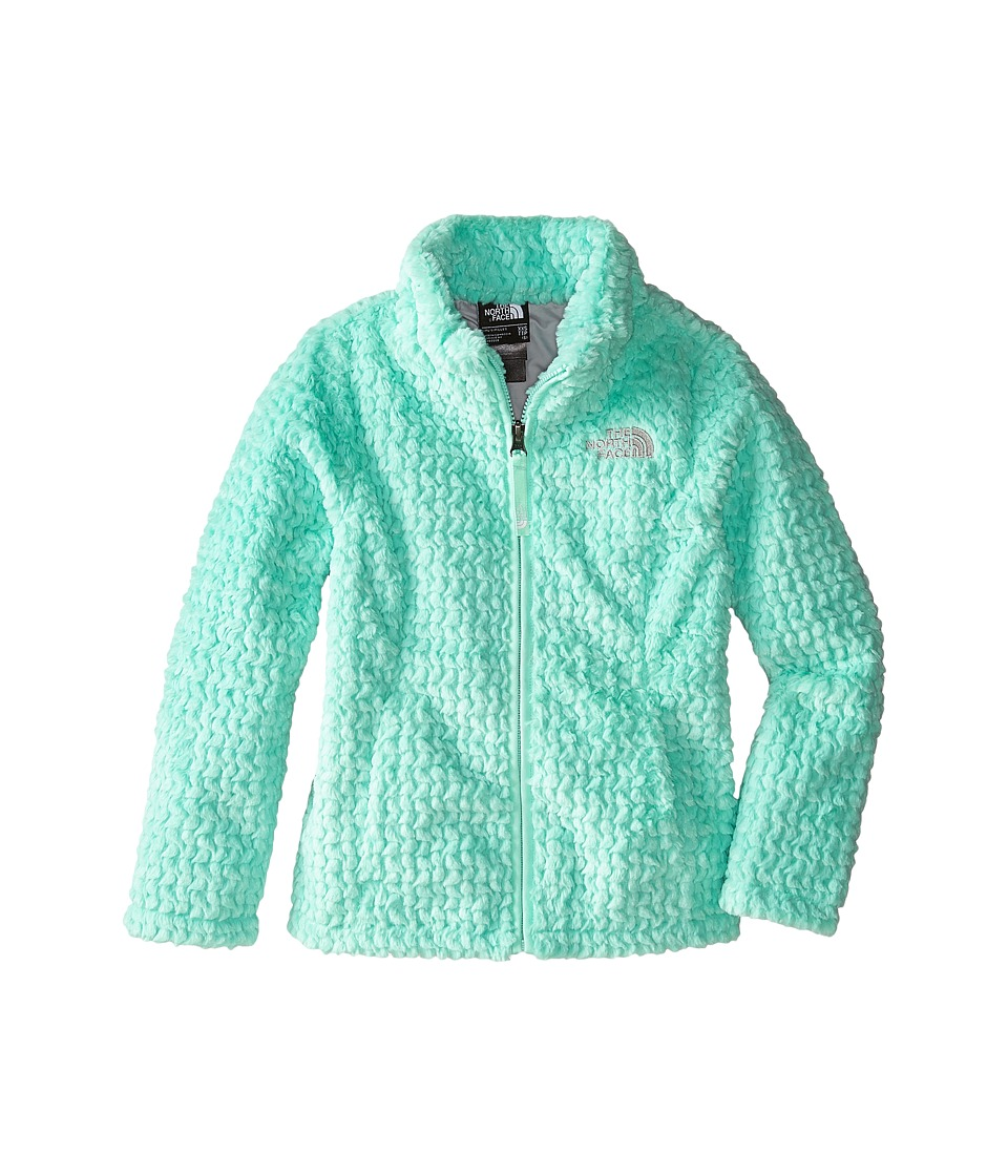 The North Face Kids - Laurel Fleece Full Zip (Little Kids/Big Kids) (Surf Green) Girl's Coat