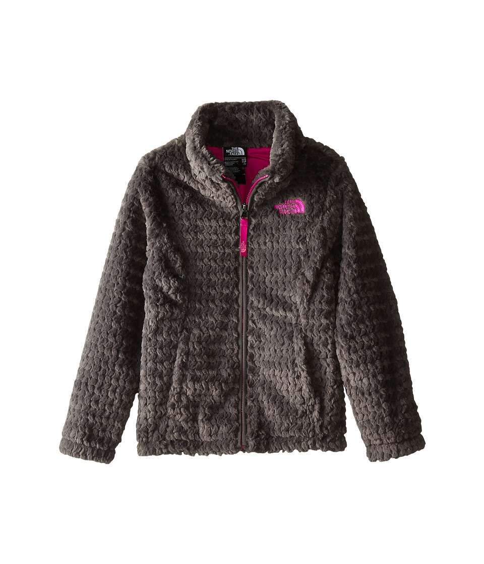 The North Face Kids - Laurel Fleece Full Zip (Little Kids/Big Kids) (Graphite Grey) Girl's Coat