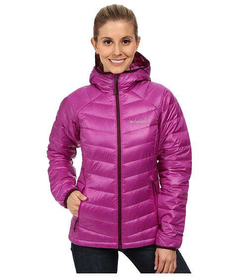 Columbia - Platinum 860 TurboDown Hooded Down Jacket (Bright Plum/Purple Dahlia) Women