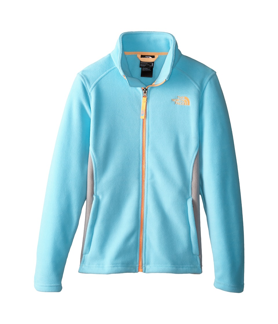 The North Face Kids - McKhumbu Jacket (Little Kids/Big Kids) (Fortuna Blue) Girl's Coat