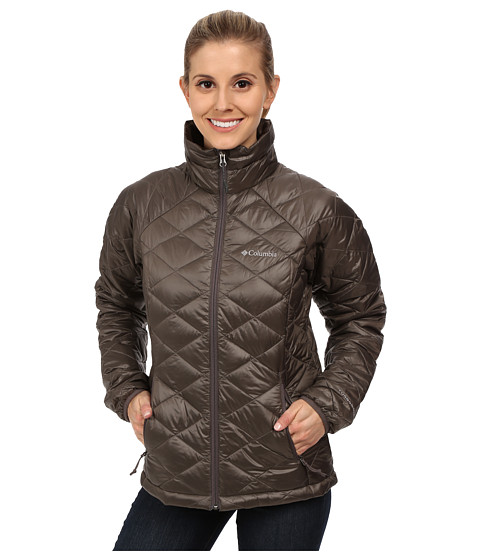 Columbia - Trask Mountain 650 TurboDown Jacket (Mineshaft) Women's Coat