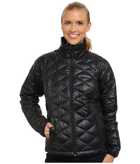 Columbia - Trask Mountain 650 TurboDown Jacket (Black) Women