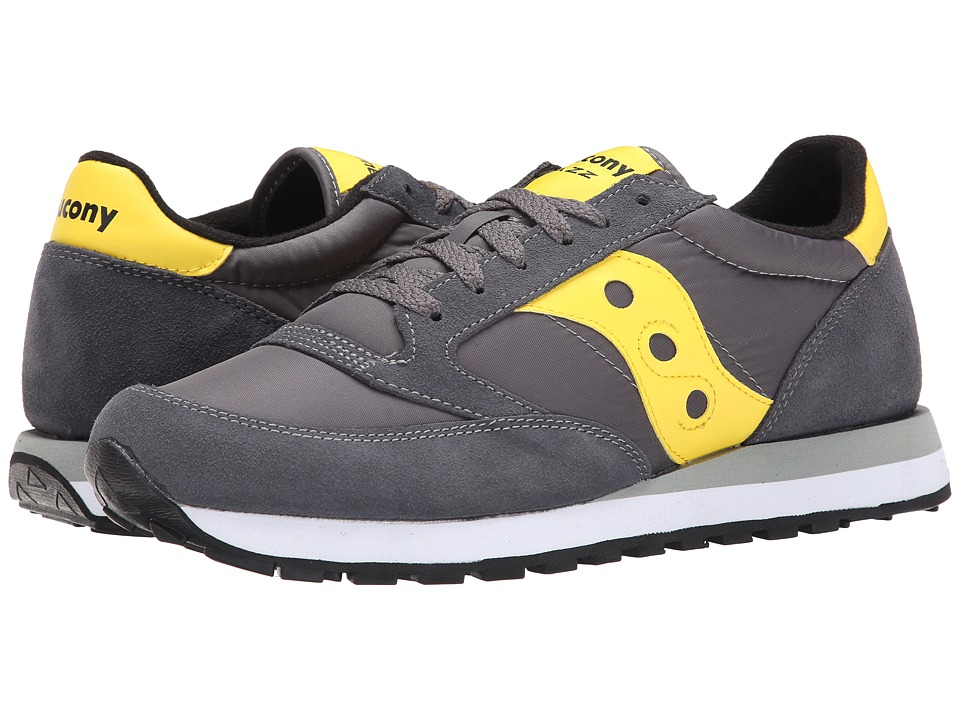 Saucony Originals - Jazz Original (Charcoal/Yellow) Men