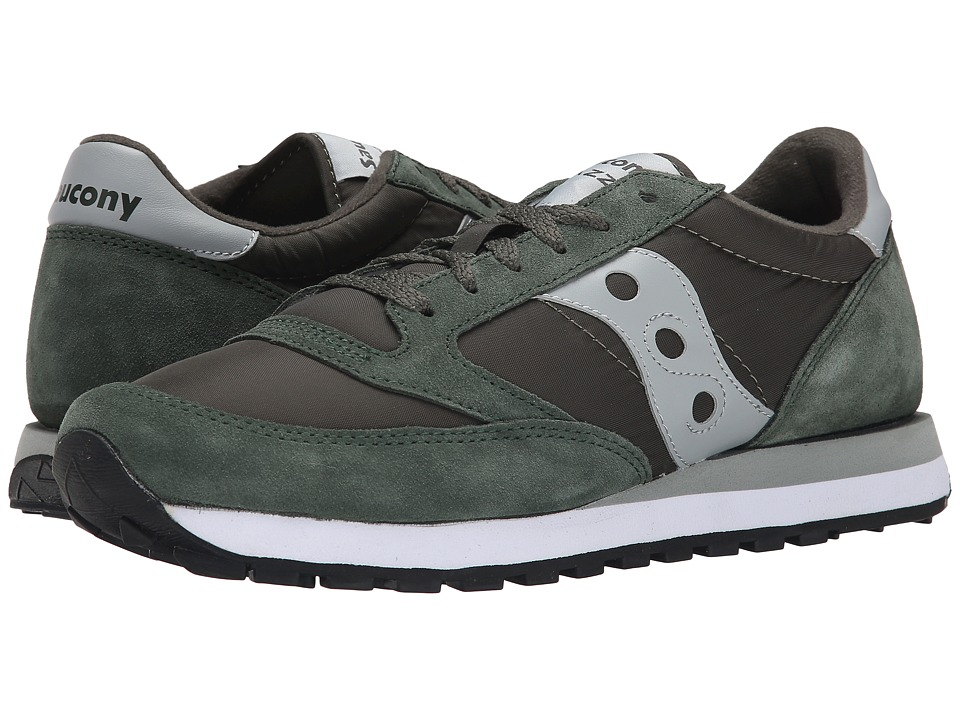Saucony Originals - Jazz Original (Green/Grey 1) Men's Classic Shoes