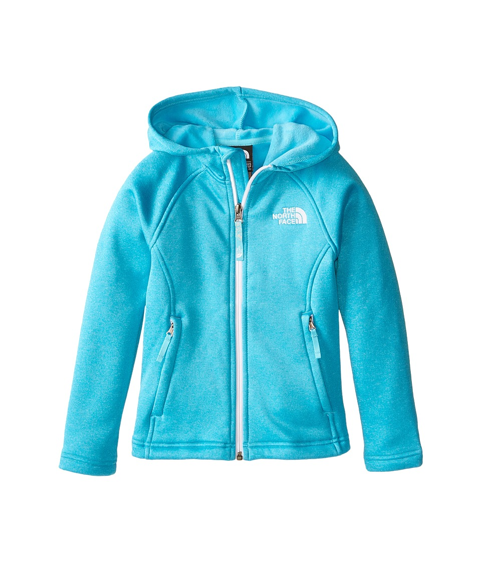 The North Face Kids - HW Agave Hoodie (Little Kids/Big Kids) (Fortuna Blue) Girl's Sweatshirt
