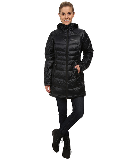 Columbia - Gold 650 TurboDown Radial Mid Jacket (Black) Women's Coat
