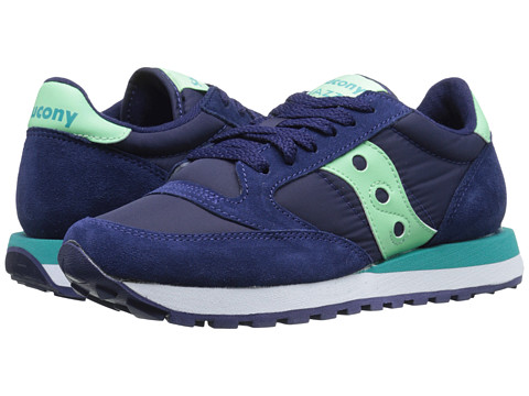 Saucony Originals - Jazz Original (Navy/Mint) Women's Classic Shoes