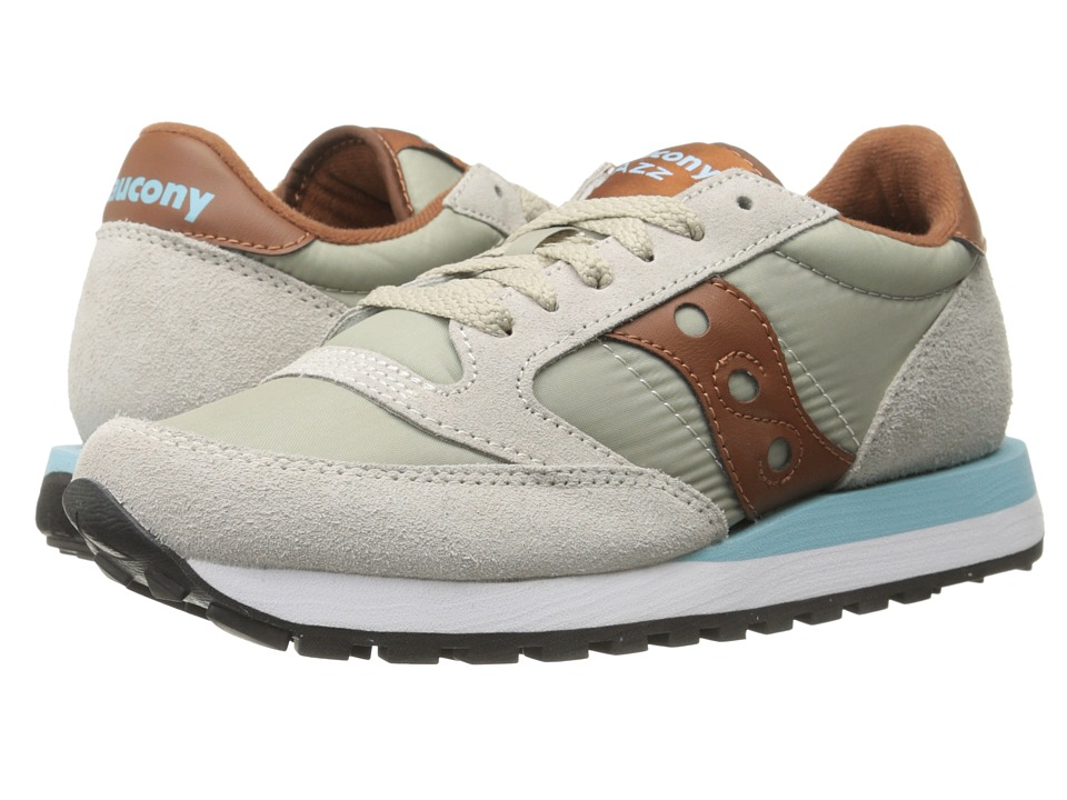 Saucony Originals - Jazz Original (Light Tan/Brown) Women's Classic Shoes