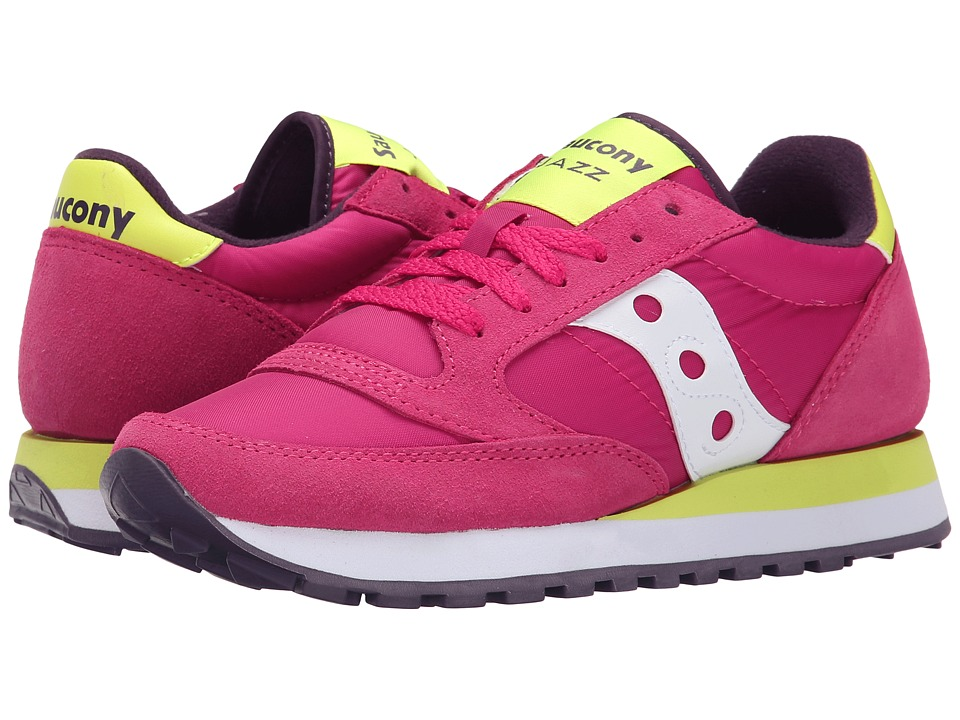 Saucony Originals - Jazz Original (Red/Yellow) Women's Classic Shoes