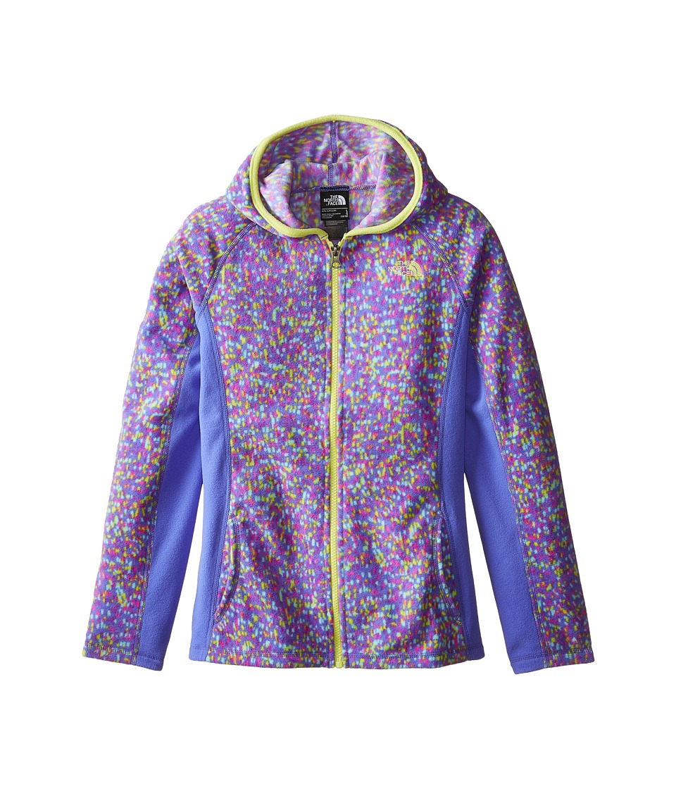 The North Face Kids - Glacier Full Zip Hoodie (Little Kids/Big Kids) (Starry Purple) Girl's Sweatshirt