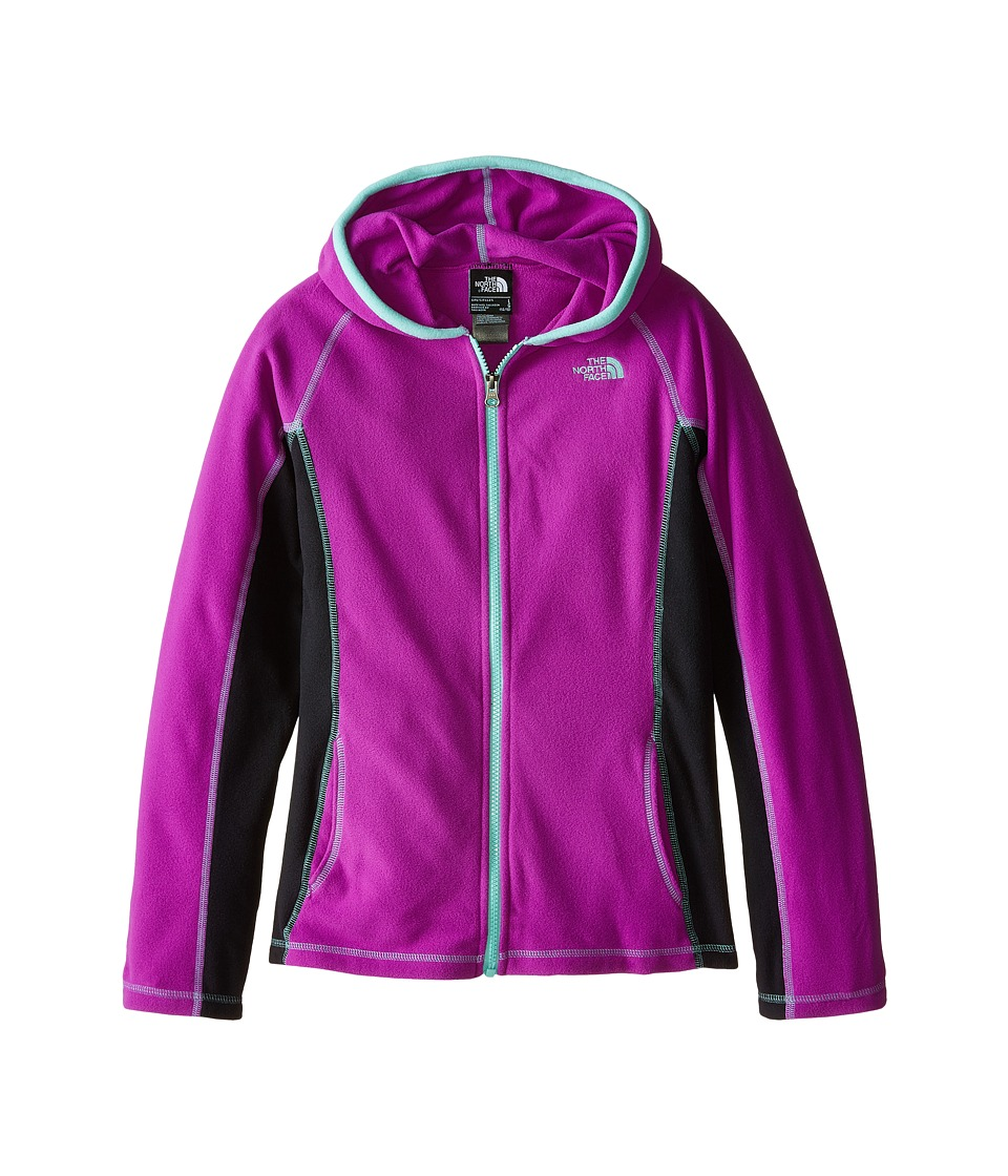 The North Face Kids - Glacier Full Zip Hoodie (Little Kids/Big Kids) (Magic Magenta) Girl's Sweatshirt