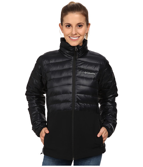 Columbia - Lava Butte 590 TurboDown Hybrid Jacket (Black) Women