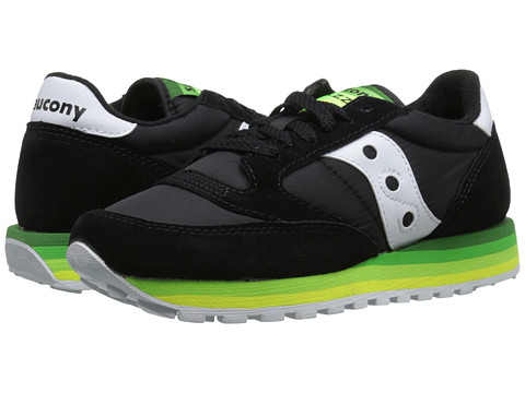 Saucony Originals - Jazz O Rainbow (Black/Green) Women's Classic Shoes