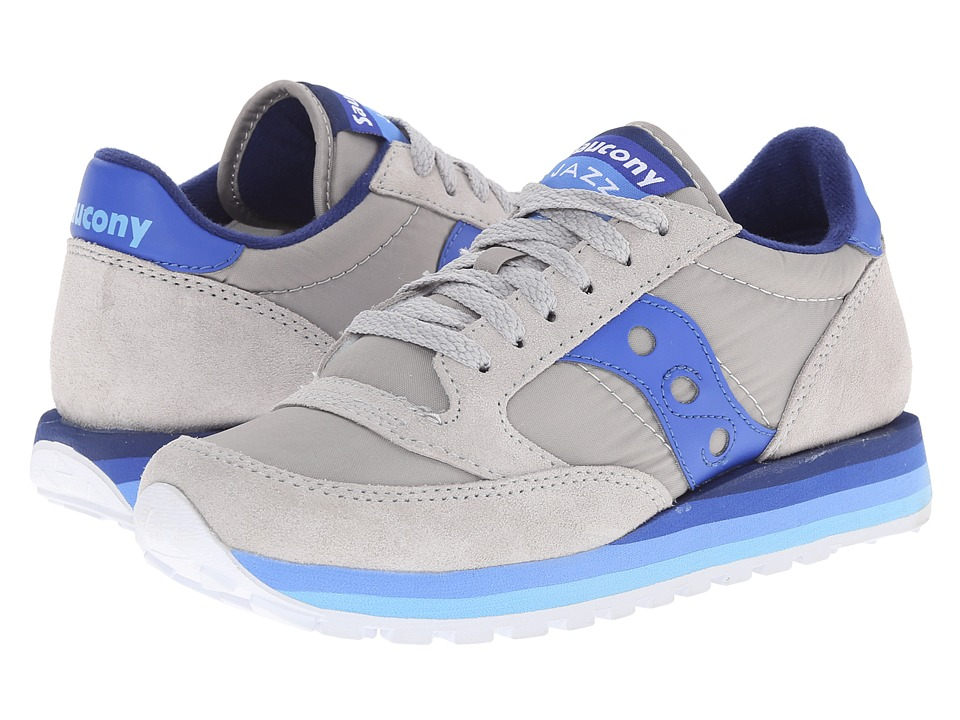 Saucony Originals - Jazz O Rainbow (Grey/Blue) Women's Classic Shoes