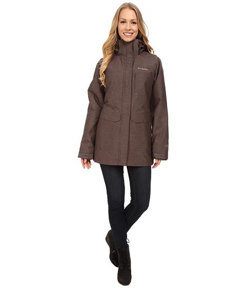 Columbia - Mystic Pines Long Interchange Jacket (Mineshaft Crossdye) Women's Coat