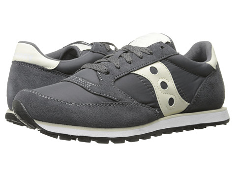 Saucony Originals - Jazz Low Pro (Charcoal/Off White) Men