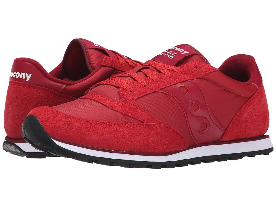Saucony Originals - Jazz Low Pro (Red) Men's Classic Shoes