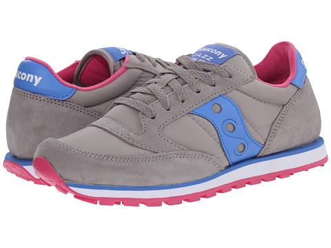 Saucony Originals - Jazz Low Pro (Grey/Blue 1) Women's Classic Shoes