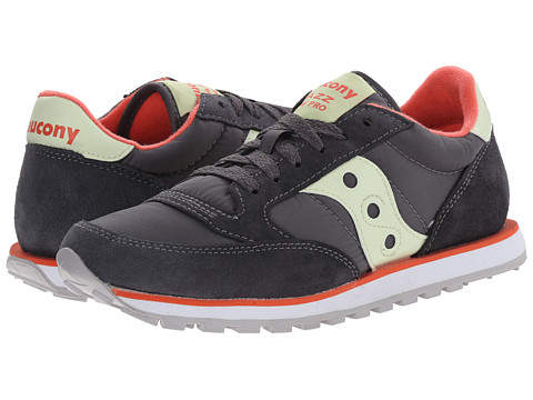 Saucony Originals - Jazz Low Pro (Charcoal/Yellow) Women's Classic Shoes