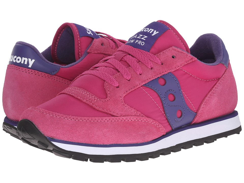Saucony Originals - Jazz Low Pro (Pink/Purple) Women's Classic Shoes