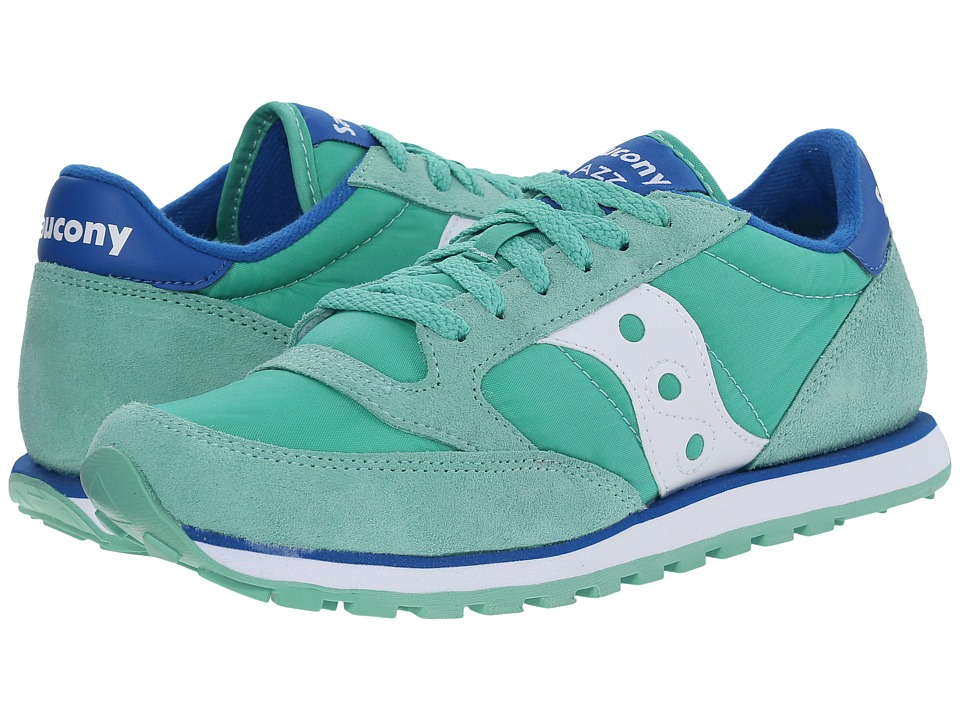 Saucony Originals - Jazz Low Pro (Mint/Blue 1) Women