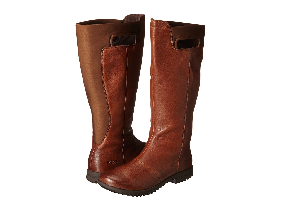 Bogs Alexandria Tall Wide Calf Boot (Tobacco) Women