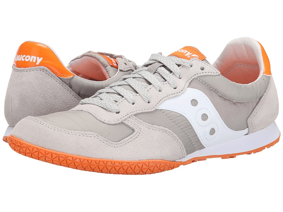 Saucony Originals - Bullet (Grey/Orange) Men's Classic Shoes