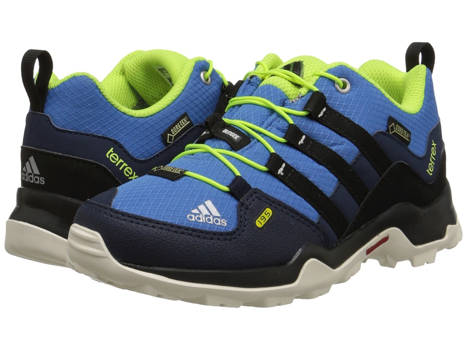 adidas Outdoor Kids - Terrex GTX (Little Kid/Big Kid) (Super Blue/Black/Solar Yellow) Boys Shoes