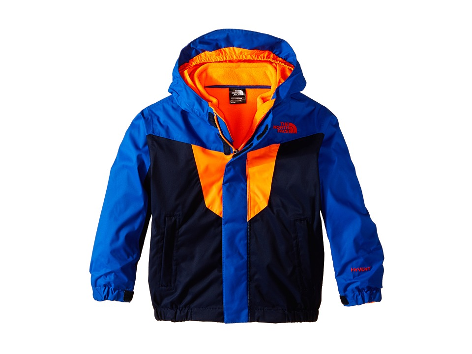 The North Face Kids - Vortex Triclimate Jacket (Toddler) (Cosmic Blue/Monster Blue) Boy's Coat