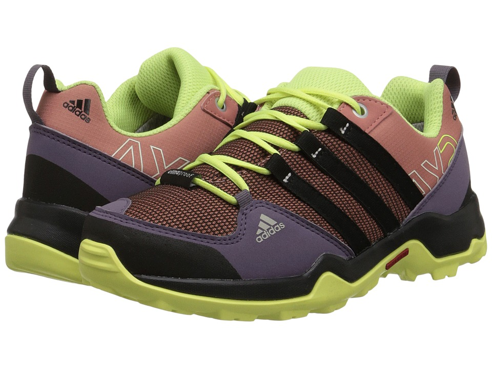 adidas Outdoor Kids - AX2 CP (Little Kid/Big Kid) (Raw Pink/Black/Frozen Yellow) Girls Shoes