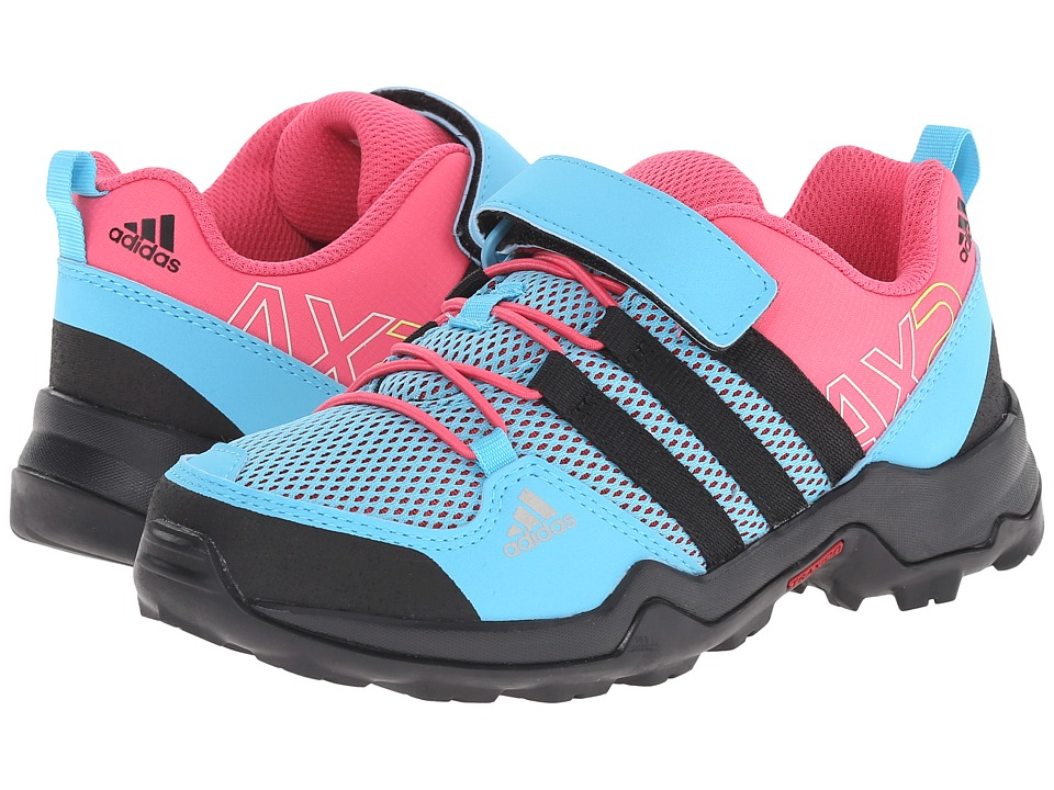 adidas Outdoor Kids - AX2 CF (Little Kid/Big Kid) (Bright Cyan/Black/Super Pink) Girls Shoes