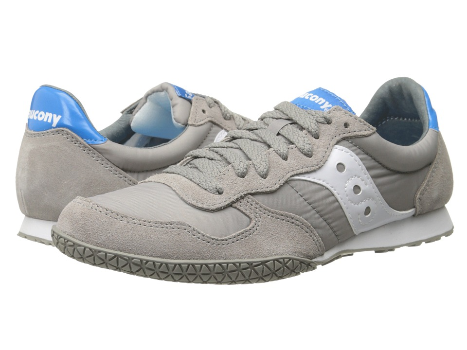 Saucony Originals - Bullet (Grey/Blue) Women's Classic Shoes