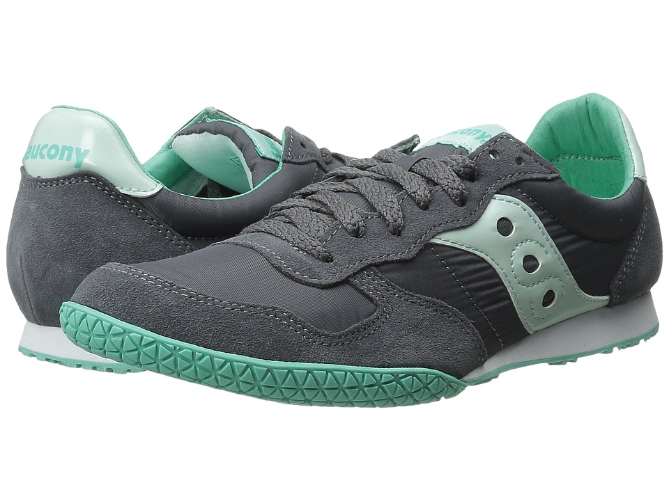 Saucony Originals - Bullet (Charcoal/Mint) Women's Classic Shoes