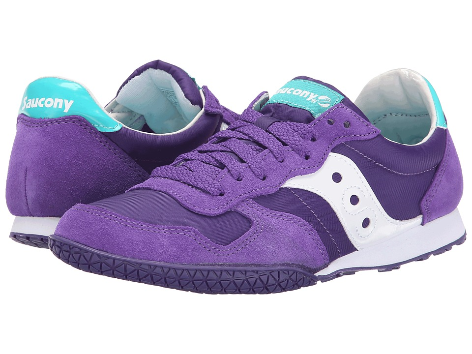 Saucony Originals - Bullet (Purple/Green 1) Women's Classic Shoes