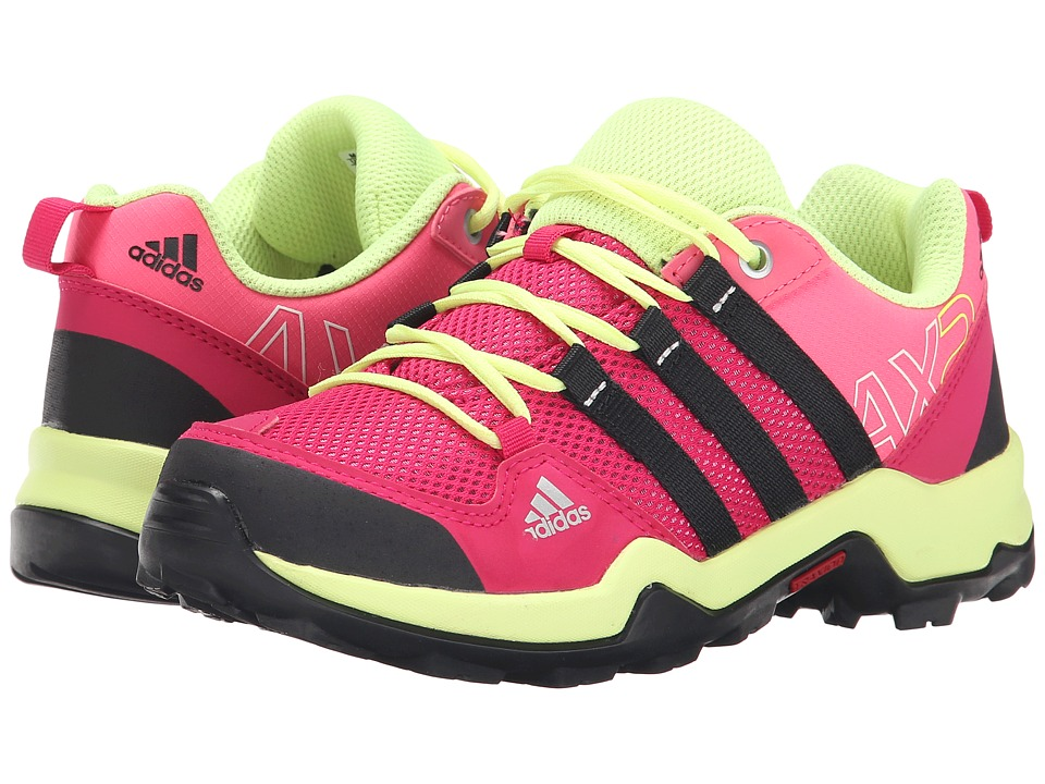 adidas Outdoor Kids - AX2 (Little Kid/Big Kid) (Super Pink/Black/Bold Pink) Girls Shoes