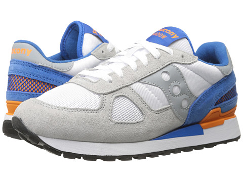 Saucony Originals - Shadow Original (White/Blue) Men's Classic Shoes