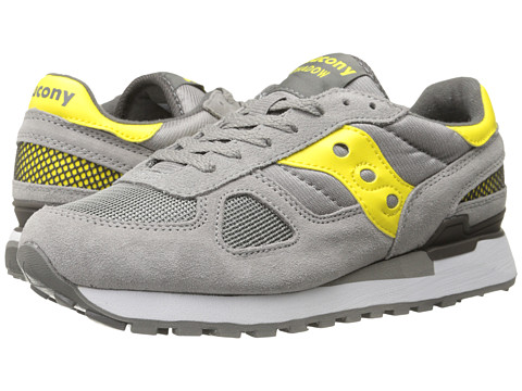 Saucony Originals - Shadow Original (Grey/Yellow) Men's Classic Shoes