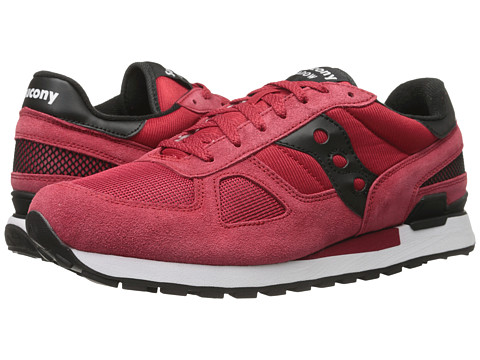 Saucony Originals - Shadow Original (Red/Black) Men's Classic Shoes