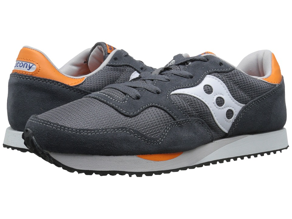 Saucony Originals - DXN Trainer (Charcoal/Orange) Men