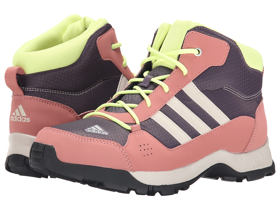 adidas Outdoor Kids - Hyperhiker (Little Kid/Big Kid) (Ash Purple/Black/Raw Pink) Girls Shoes