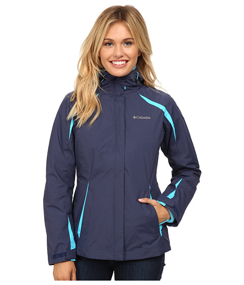 Columbia - Blazing Star Interchange Jacket (Nocturnal/Atoll/Atoll) Women's Coat