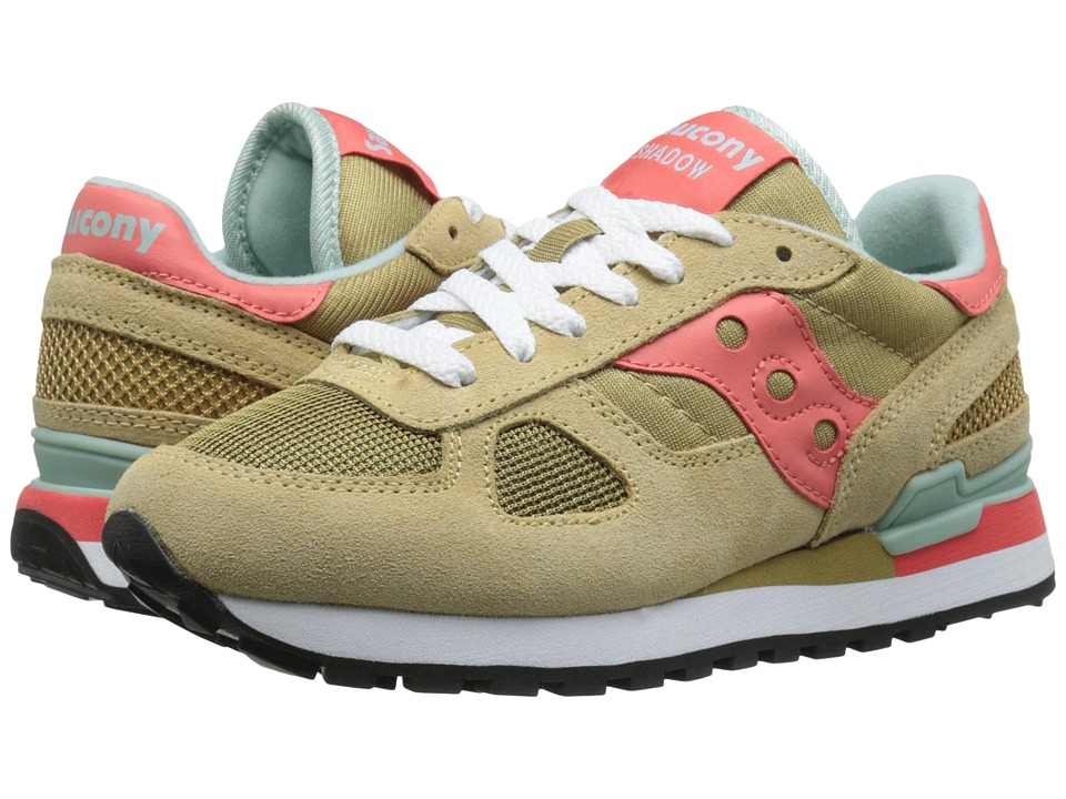 Saucony Originals - Shadow Original (Beige/Pink) Women's Classic Shoes