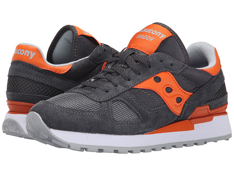 Saucony Originals - Shadow Original (Charcoal/Orange) Women's Classic Shoes