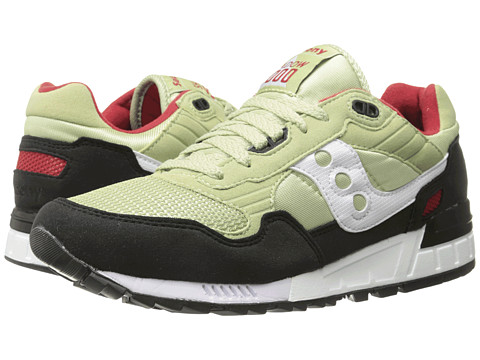 Saucony Originals - Shadow 5000 (Light Green/Black) Men's Classic Shoes